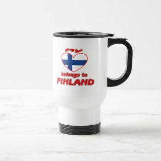 My heart belongs to Finland Mug