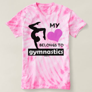 My Heart Belongs to Gymnastics T-shirt
