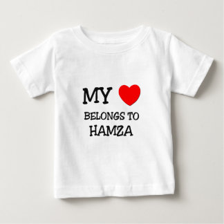 My Heart Belongs to Hamza T Shirt