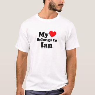 My Heart Belongs to Ian T-Shirt