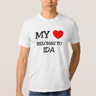My Heart Belongs To IDA T-shirt