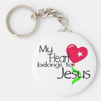 My Heart belongs to Jesus - keychain