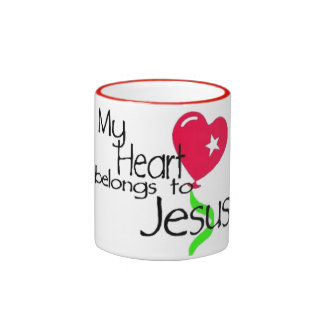 My Heart belongs to Jesus Mug