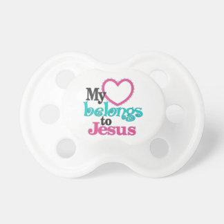 My Heart Belongs To Jesus Pacifier