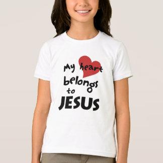 My heart belongs to Jesus T-Shirt