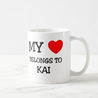 My Heart Belongs to Kai Coffee Mug