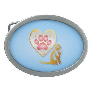 My Heart Belongs To Kitty Belt Buckle