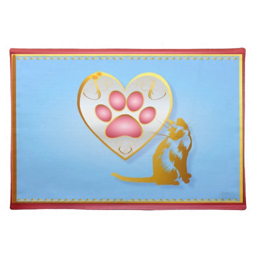 My Heart Belongs To Kitty Placemat