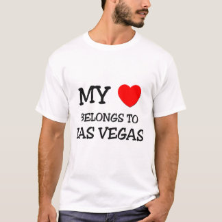 My heart belongs to LAS VEGAS T-Shirt