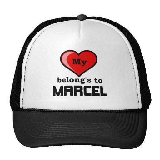 My Heart belongs to Marcel Trucker Hat