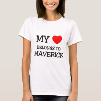 My Heart Belongs to Maverick T-Shirt