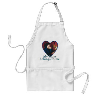 My Heart Belongs to Me Adult Apron