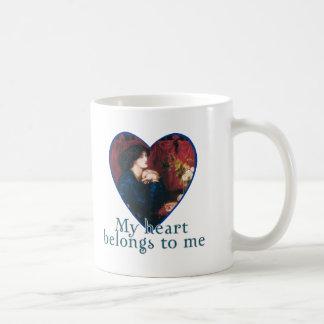 My Heart Belongs to Me Coffee Mug