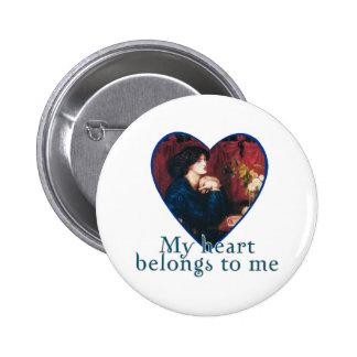 My Heart Belongs to Me Pinback Button