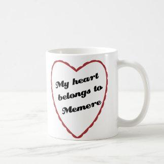 My Heart Belongs to Memere Coffee Mug