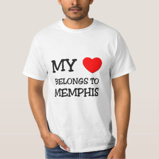 My heart belongs to MEMPHIS T-Shirt