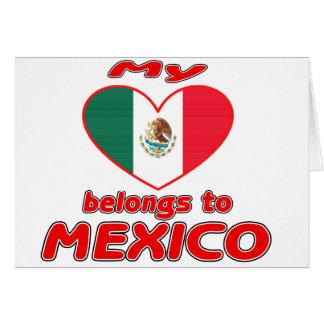My heart belongs to Mexico Card