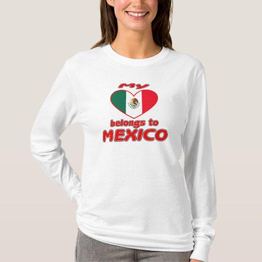 My heart belongs to Mexico T-Shirt