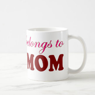 My Heart Belongs to Mom Mom Mugs
