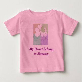 My Heart belongs to Mommy Baby T-Shirt