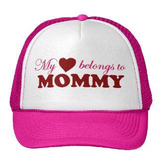 My Heart Belongs to Mommy Hat
