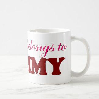 My Heart Belongs to Mommy Mugs