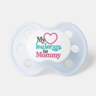 My Heart Belongs To Mommy Pacifier