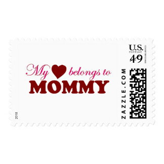 My Heart Belongs to Mommy Stamps