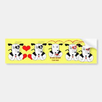 My Heart Belongs to My Daddy Bumper Sticker