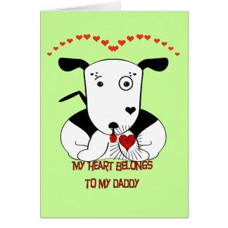 My Heart Belongs to My Daddy Card