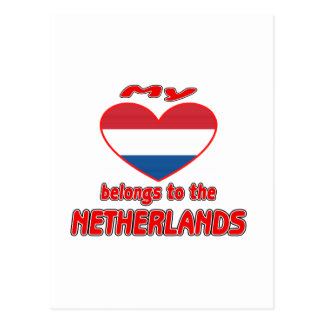 My heart belongs to Netherlands Postcards
