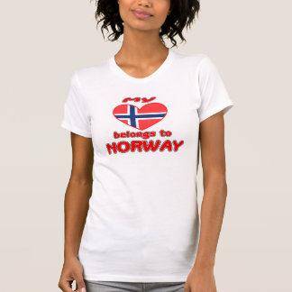 My heart belongs to Norway T-Shirt