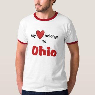My Heart Belongs to Ohio T-Shirt