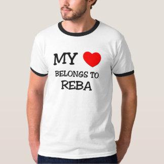 My Heart Belongs To REBA T-shirt