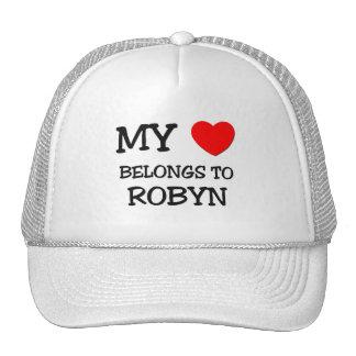 My Heart Belongs To ROBYN Hat