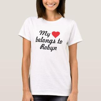 My heart belongs to Robyn T-Shirt