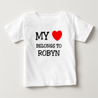 My Heart Belongs To ROBYN T-shirts