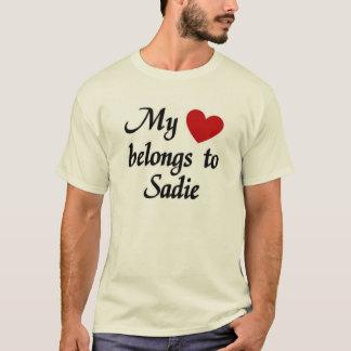 My heart belongs to Sadie T-Shirt