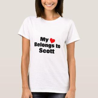 My heart belongs to Scott T-Shirt