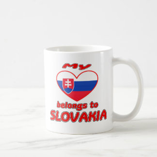 My heart belongs to Slovakia Coffee Mug