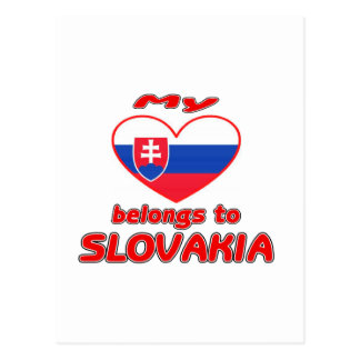 My heart belongs to Slovakia Postcard