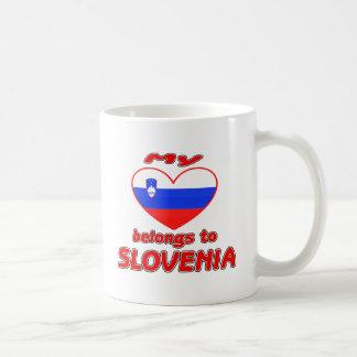 My heart belongs to Slovenia Mugs