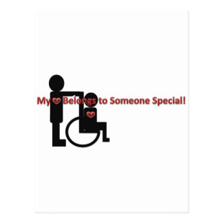 My Heart Belongs To Someone Special Postcard