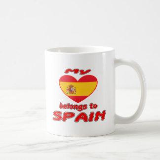 My heart belongs to Spain Mug