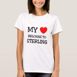 My Heart Belongs to Sterling T-Shirt