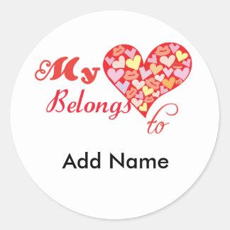 My Heart Belongs to Stickers