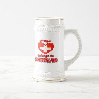 My heart belongs to Switzerland Mug