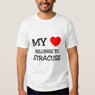 My heart belongs to SYRACUSE Shirt