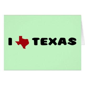 My heart belongs to Texas Card
