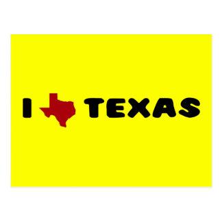 My heart belongs to Texas Postcard